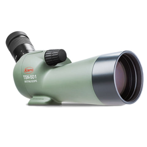 Kowa_TSN-501_50mm_Fully_Multi_Coated_Angled_Spotting_Scope_Front_Right_View_at_angle