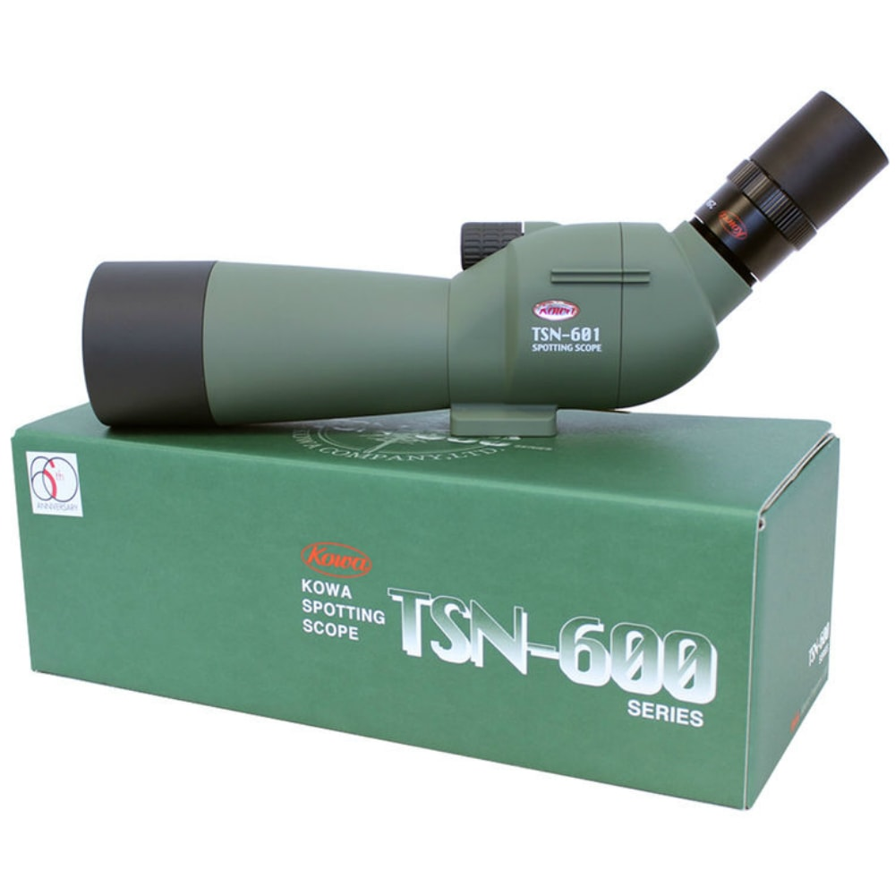 Kowa_TSN-601_60mm_Multi-Coated_Angled_Spotting_Scope_On_Box