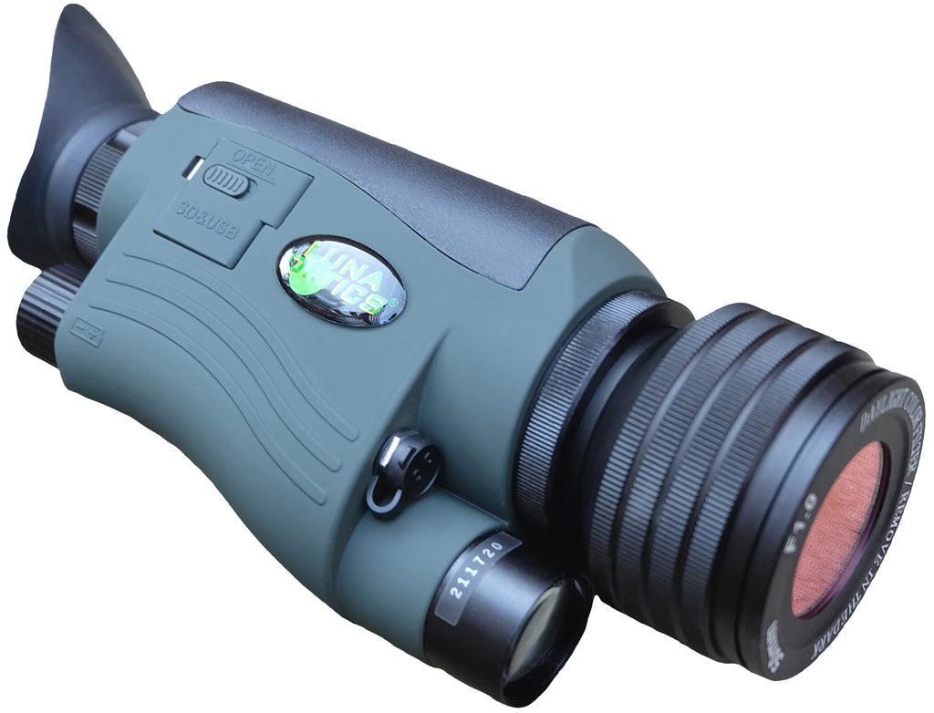 Luna Optics LN-G2-M50 Gen-2 Digital Day/Night Vision Monocular 6-30X50