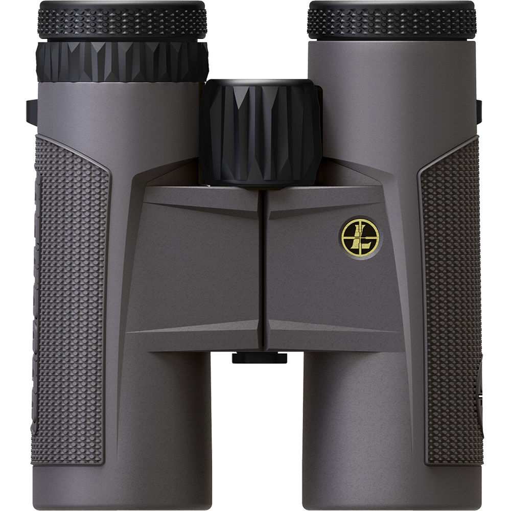 Leupold 10x42 BX-2 Tioga HD Binocular Shadow Gray 299388 Upright View