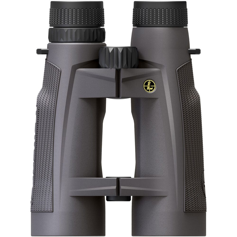 Leupold 15x56 Santiam HD Binocular Shadow Gray 299374 Upright View