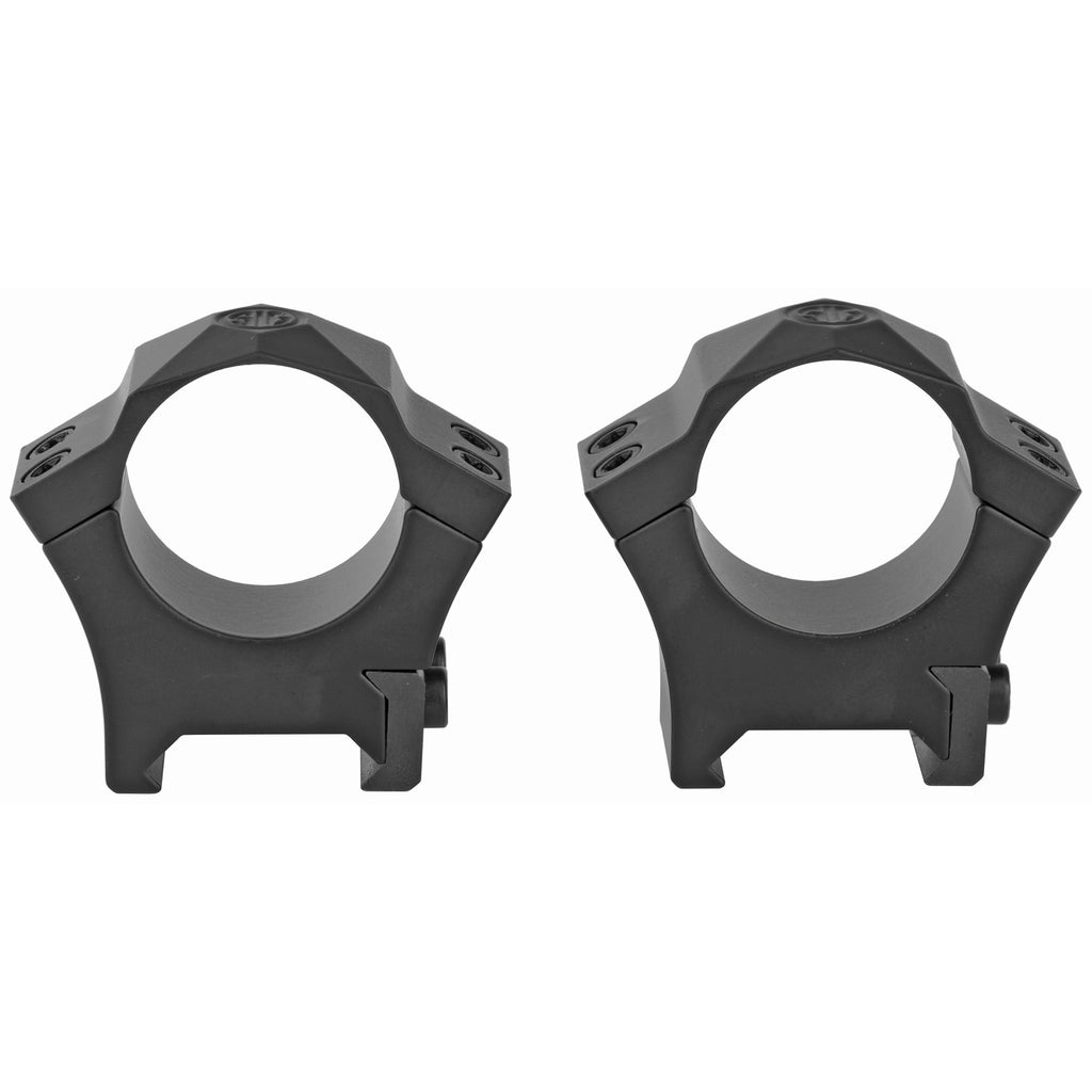 "Sig Sauer Alpha Hunting Ring 1"" Med Black Steel Picatinny"