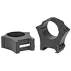 "Image of Sig Sauer Alpha Hunting Ring 1"" High Black Steel Picatinny"