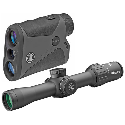 Sig Sauer BDX Combo Kit KILO1400BDX Laser Rangefinder SIERRA3BDX 2.5-8X32mm Scope