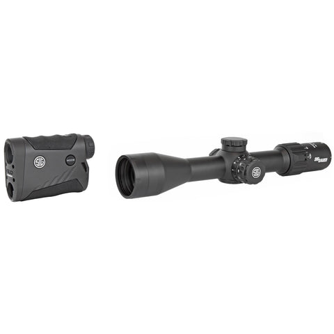 Sig Sauer BDX Combo Kit KILO1800BDX Laser Ranger Finder and SIERRA3BDX 4.5-14X42mm Scope Black Finish