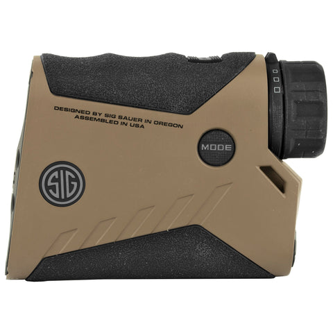 Sig Sauer Kilo2400ABS Rangefinder 7X25mm Applied Ballistics System Flat Dark Earth