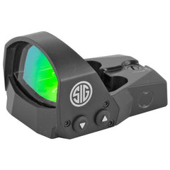 Sig Sauer Romeo1 Reflex Sight 3 MOA Dot Black Finish 1 MOA Adjustments