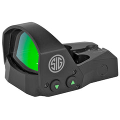 Sig Sauer ROMEO1 Miniature Reflex Sight with Mounting Kit - 1x30mm 3 MOA 3 MOA Red Dot Reticle Graphite