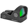 Image of Sig Sauer ROMEO1 Miniature Reflex Sight with Mounting Kit - 1x30mm 3 MOA 3 MOA Red Dot Reticle Graphite
