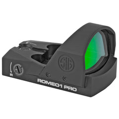 Sig Sauer Romeo1 Pro Reflex Sight 3 MOA Dot Black Finish 1 MOA Adjustments