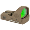 Image of Sig Sauer Romeo1 Pro Reflex Sight 6 MOA Dot FDE Finish 1 MOA Adjustments