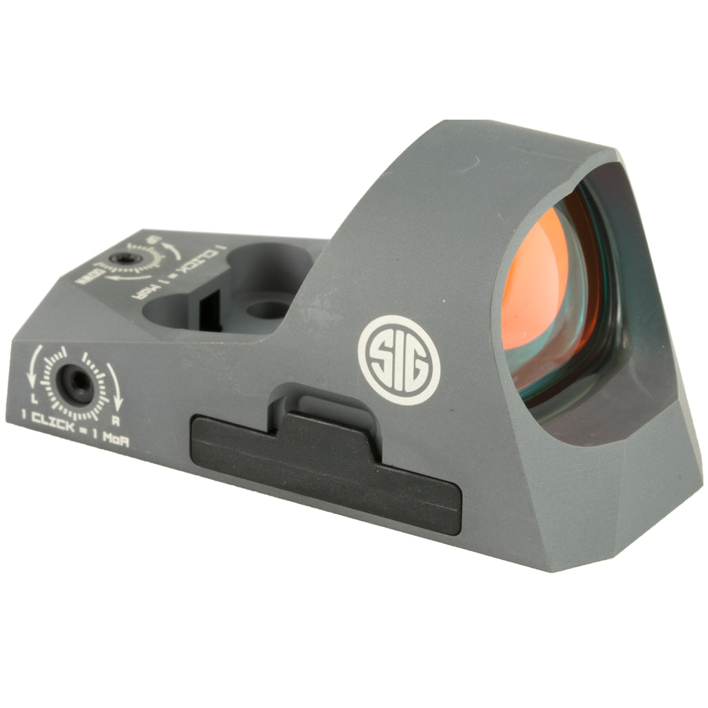 Sig Sauer Romeo3 Reflex Sight Fits 1913 Picatinny Rail Riser Included Graphite Finish