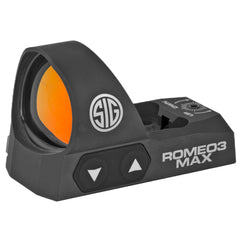 Sig Sauer Romeo3 Max Reflex Sight 3 MOA Dot Black Finish 1 MOA Adjustments