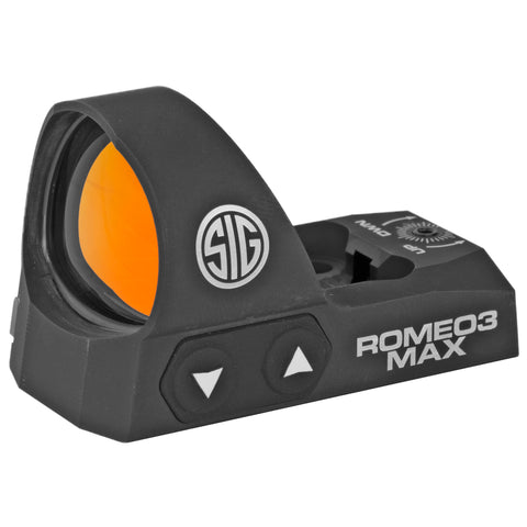 Sig Sauer Romeo3 Max Reflex Sight 6 MOA Dot Black Finish 1 MOA Adjustments