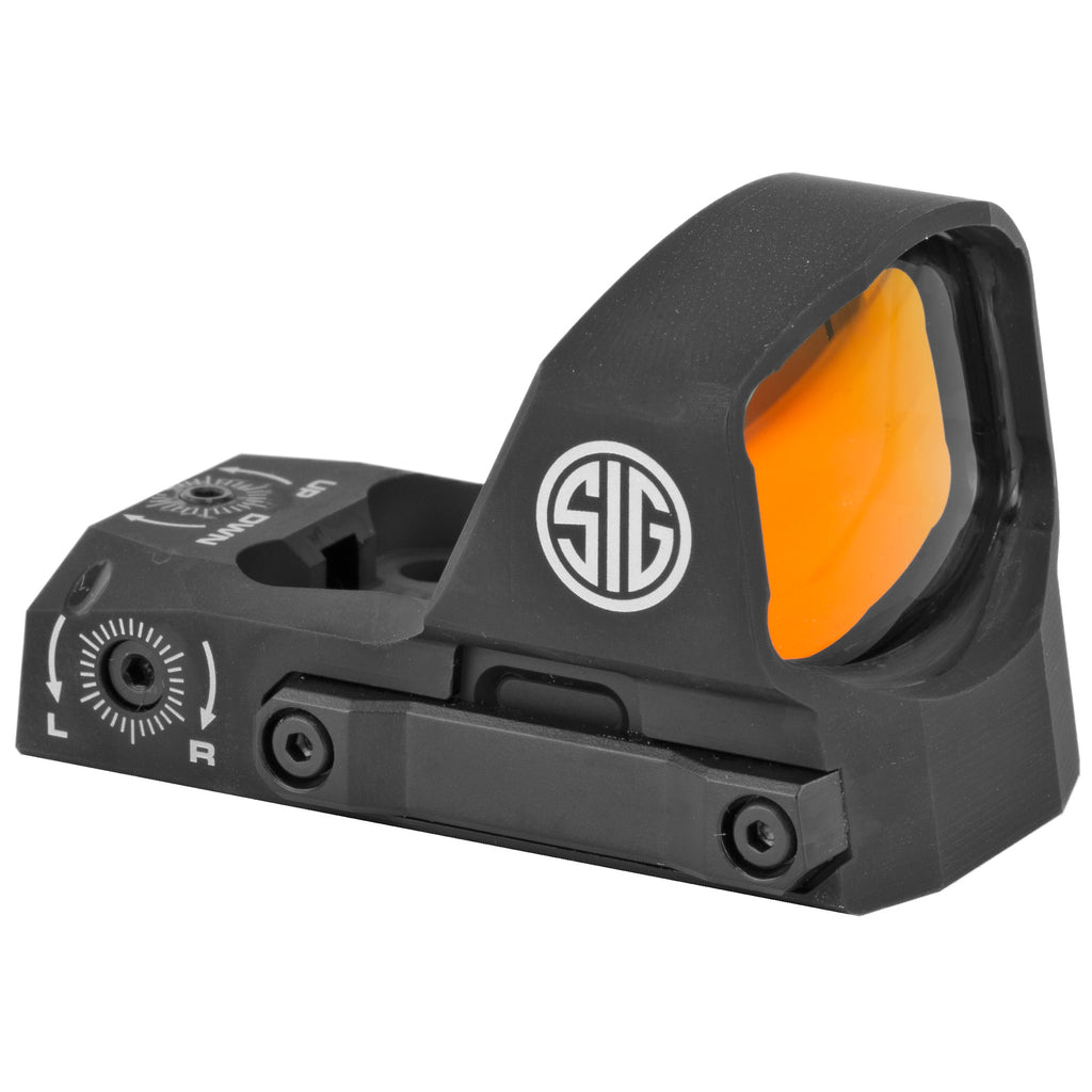 Sig Sauer ROMEO3XL Reflex Sight 6 MOA Dot Black Finish 1 MOA Adjustments