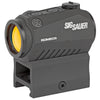 Image of Sig Sauer ROMEO5 Red Dot 1X20MM Black Finish 2 MOA Dot High Mount Only Fits M1913 Rail
