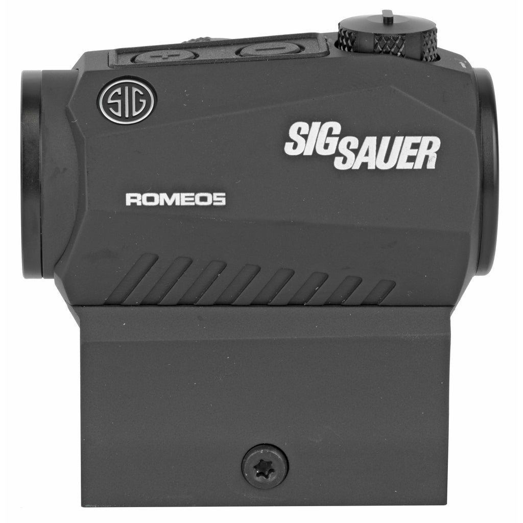 Sig Sauer ROMEO5 Red Dot 1X20MM Black Finish 2 MOA Dot High Mount Only Fits M1913 Rail