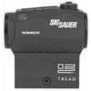Image of Sig Sauer Romeo5 Tread Red Dot 1X20mm 2 MOA Dot .05 MOA Adjustments Fits M1913 Rail Black Finish