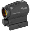 Image of Sig Sauer Romeo5 XDR Compact Red Dot 1X20mm 2 MOA with 65MOA Circle M1913 Mount Black Finish