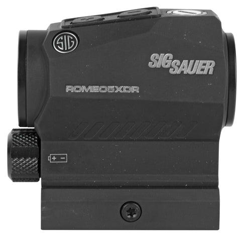 Sig Sauer Romeo 5 XDR Predator Green Dot Sight 1X20mm 0.5 MOA Adjustment AAA M1913 Black Finish