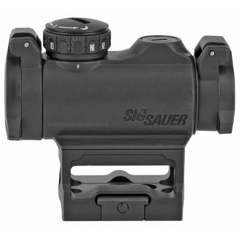 Sig Sauer ROMEO MSR 1X 20MM Objective Red Dot Black Finish 2 MOA Dot