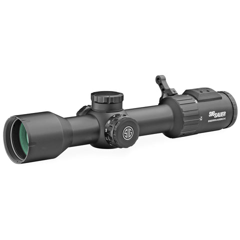 Sig Sauer SIERRA6 Scope 2-12X40mm 30mm Main Tube BDX-R2 Digital Ballistic Reticle 0.25 MOA Bluetooth