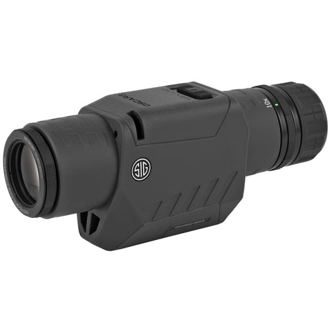 Sig Sauer Oscar3 Spotting Scope 10-20x30mm Image Stabilized CR2 Battery Graphite Finish