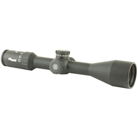 Sig Sauer WHISKEY5 Scope 5-25X52mm 30mm Milling Hunter Illuminated Reticle Levelplex