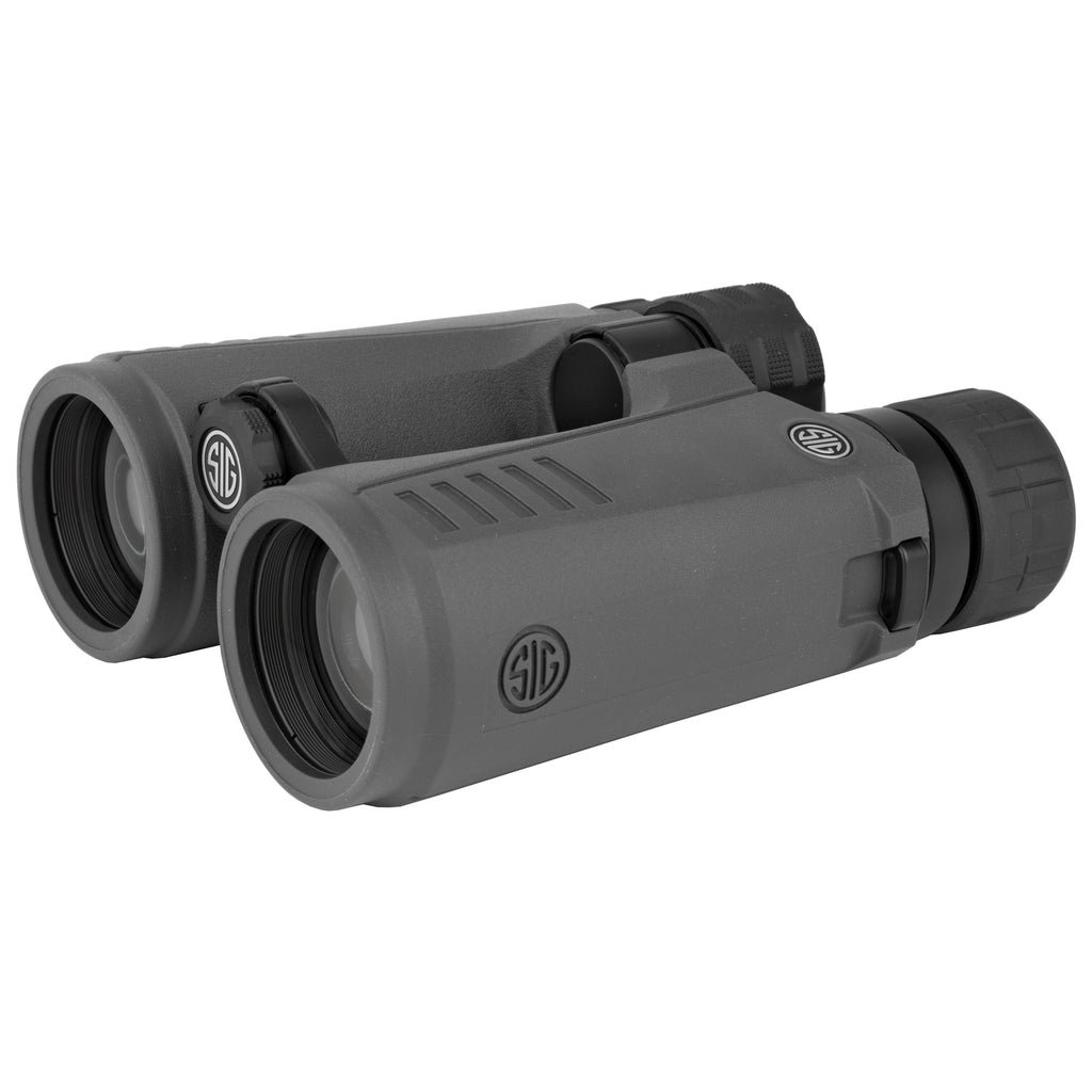 Sig Sauer Zulu7 Binocular 10X42mm Open Bridge Graphite Finish