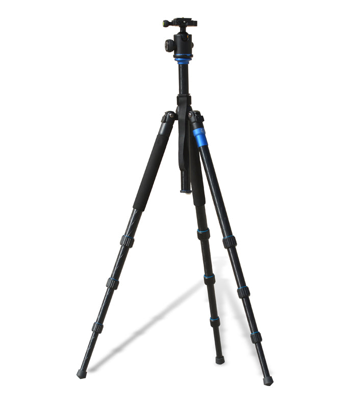 LUCID OPTICS TP4 - Aluminum (4) section Tripod w/ball head Mount