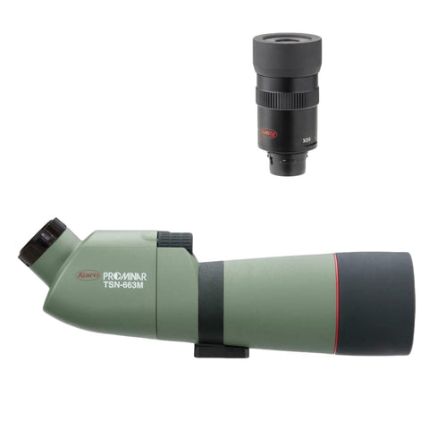 Kowa TSN663M Angled Spotting Scope + TE9Z 20-60X Eyepiece