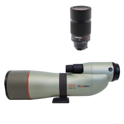 Kowa TSN774 Straight Spotting Scope + TE11WZ 25-60X Eyepiece