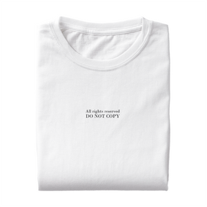"T-Shirt ""DO NOT COPY"""