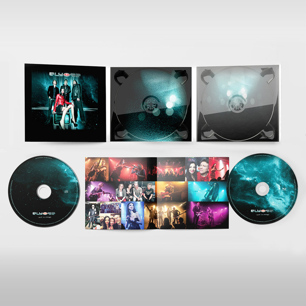 """Live in Paris""  Blu-ray + CD"