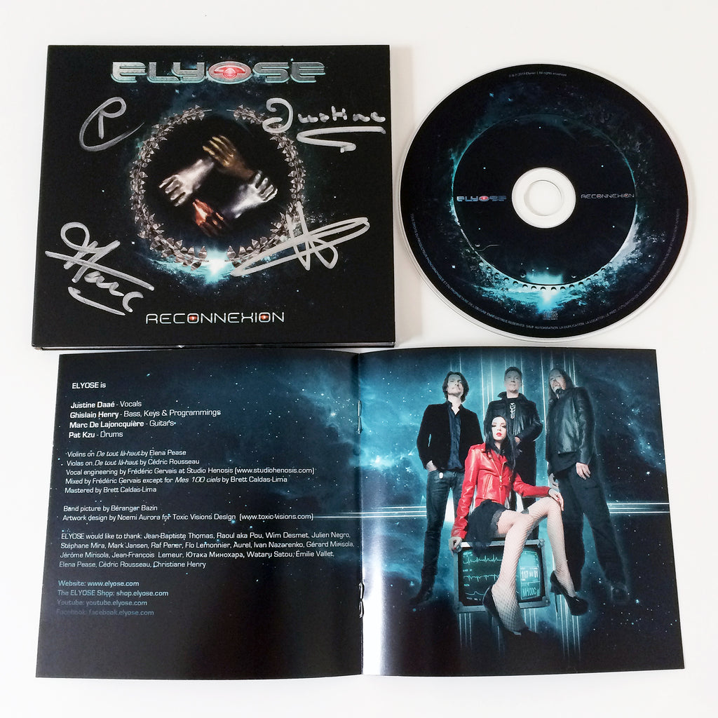 Industrial Symphonic Metal CD Trio
