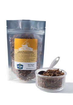 Honey Mustard Crickets - Large Bag