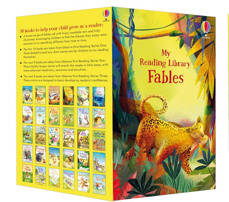Usborne My First Fables Reading Library (30 Books)