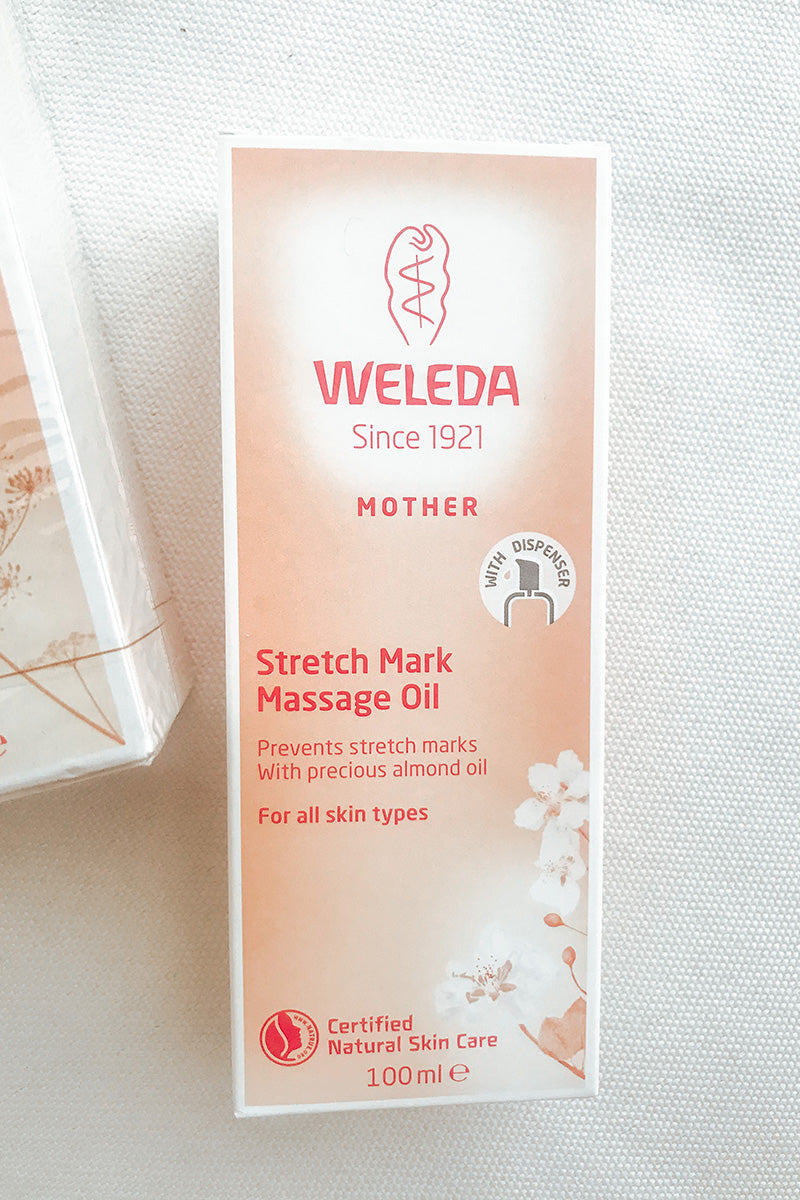 Weleda Stretch Mark Massage Oil Duo 2x100ml