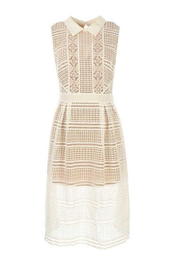 L'atelier D Tampico Lace Art Deco Dress