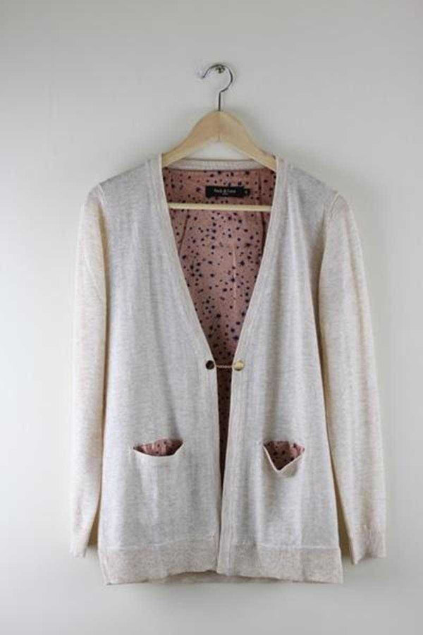 Andy and Lucy Gatz Wool Cardigan - Talis Collection