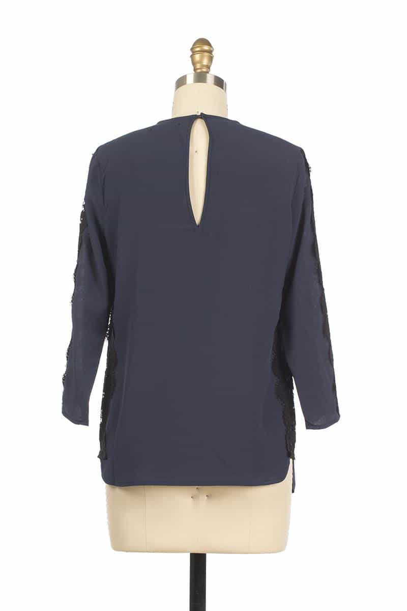 Andy and Lucy Tendresse Marine Top Navy - Talis Collection