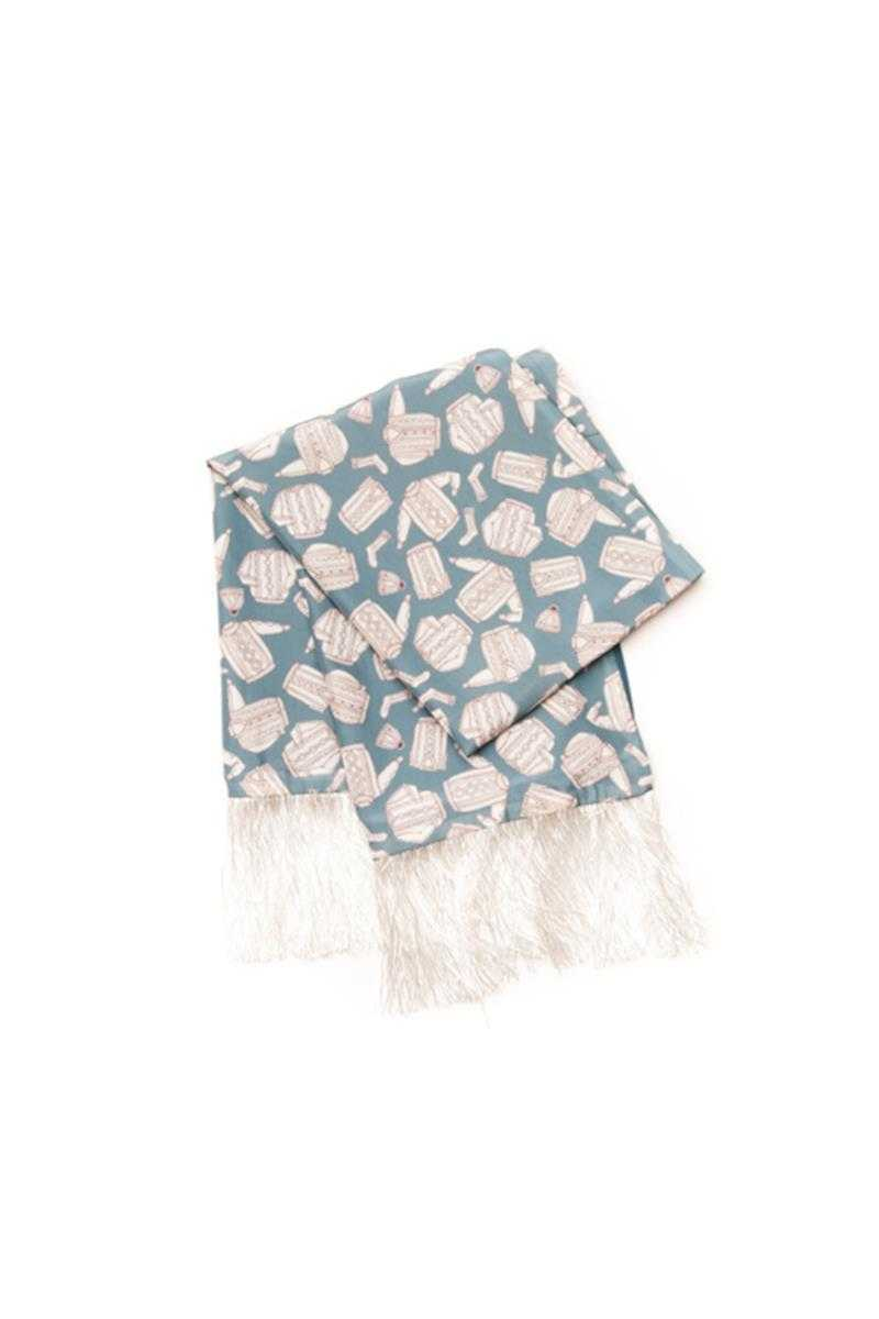 Book of Deer Madison Mini Knit Scarf - Talis Collection