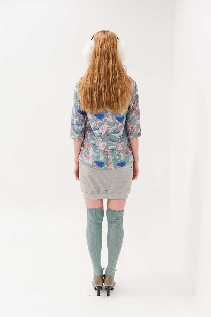 Book of Deer Huld Ice Blouse - Talis Collection