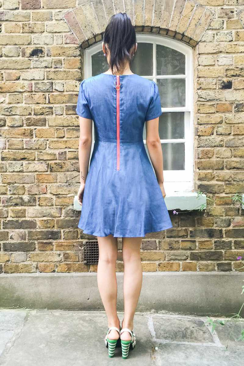 Book of Deer Rainbow Skater Dress - Talis Collection
