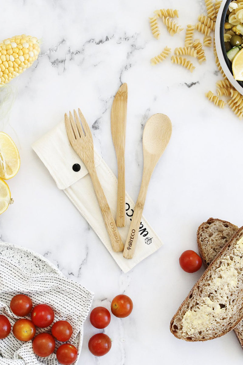 Ever Eco Bamboo Cutlery Set