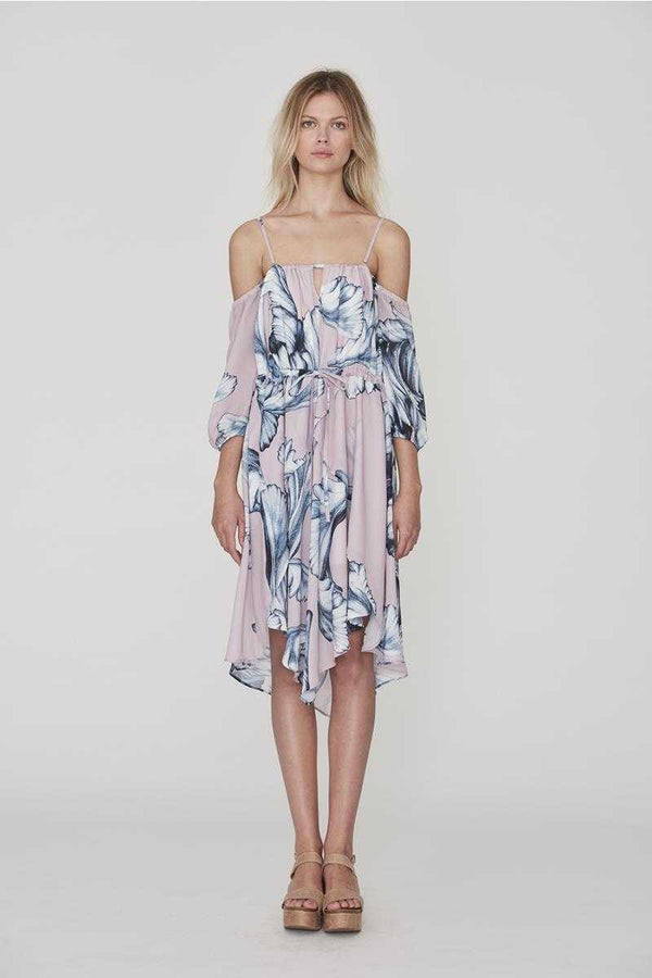 Cooper St How Do I Do Dress Floral Print - Talis Collection
