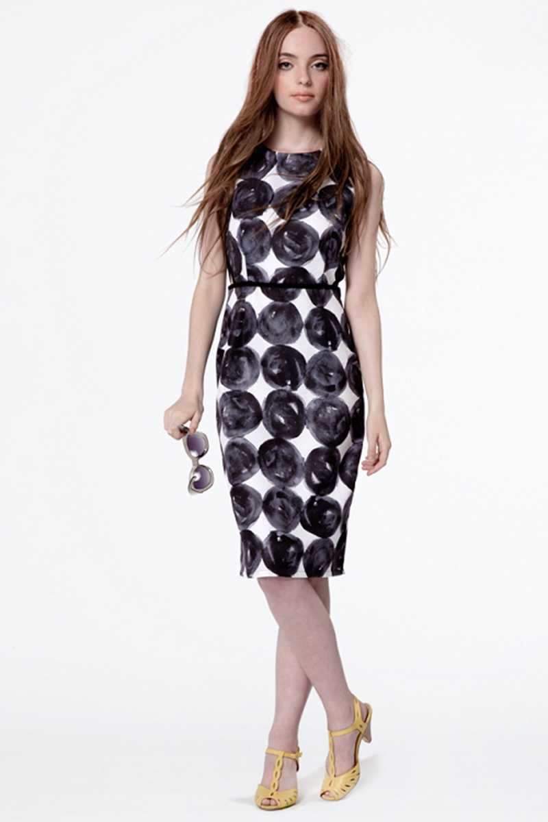 Dear Creatures Naomi Dress Stacked Dots - Talis Collection