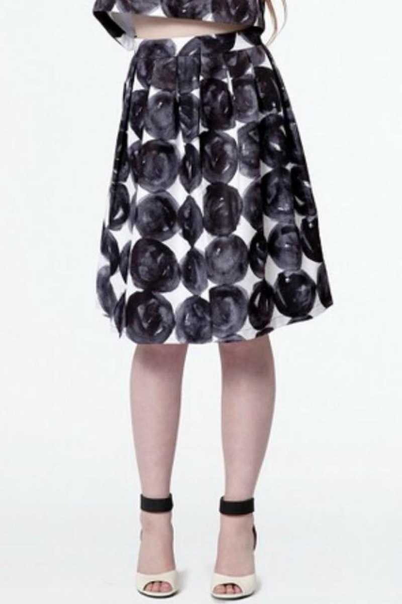 Dear Creatures Polka Dot Skater Skirt - Talis Collection