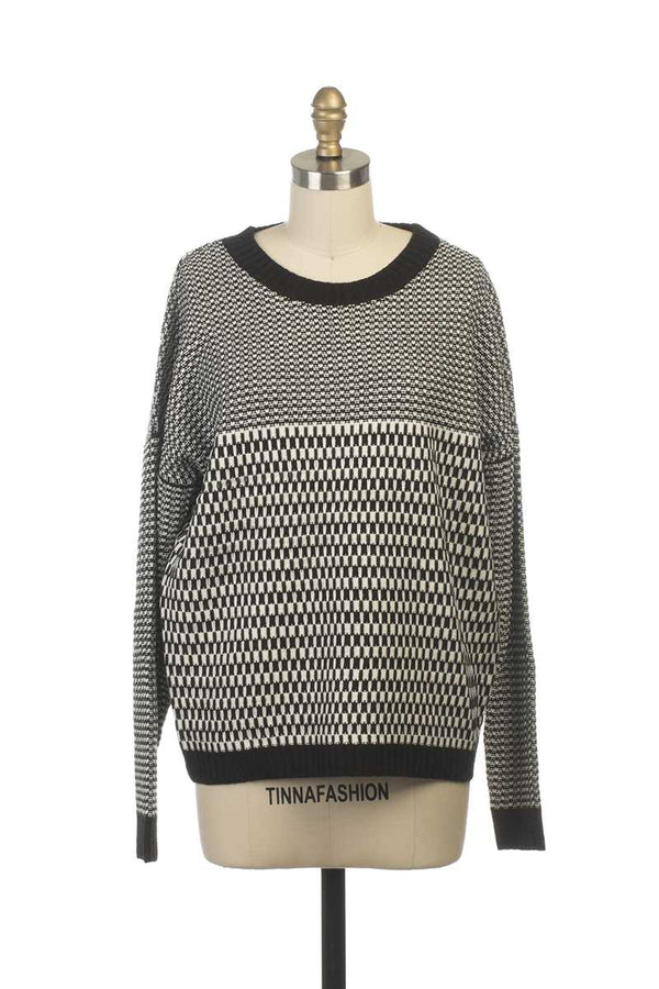 Everly Alisha Printed Knit Jumper - Talis Collection