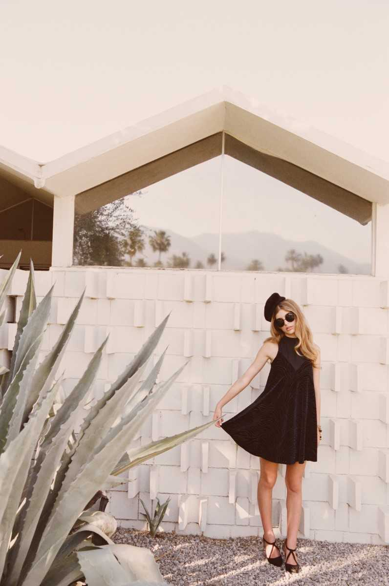 Victoria Turtle Neck Dress